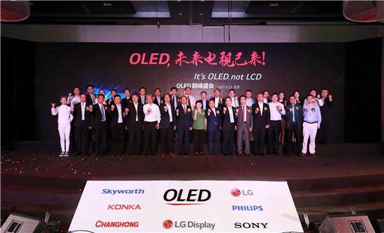 主流彩电企业新共识:OLED将成未来电视主导者