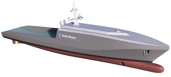 劳斯莱斯计划推出无人舰船:可自动巡逻