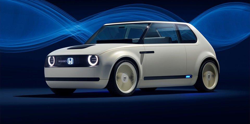本田Urban EV概念车基于思域2019年推量产版