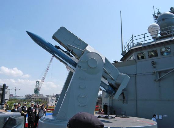 台海军又被爆出事故!价值1200万防空导弹被摔坏
