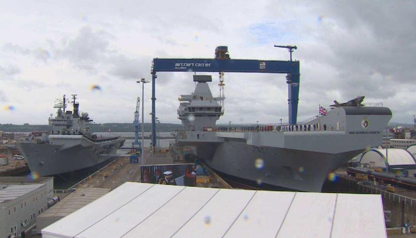 心有余力不足!美媒:英海军渴望重返亚太难实现