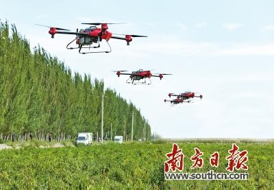 广州造农业无人机 将进军美日市场