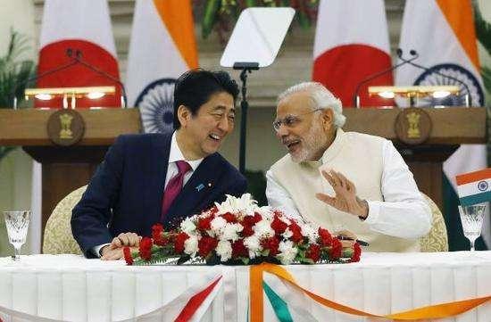 日印安保合作抱团针对中国?专家:没多大意义