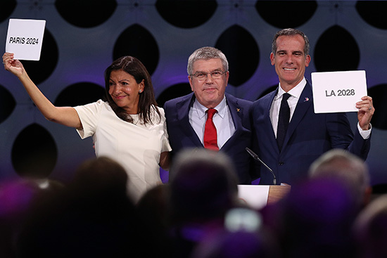 官宣!巴黎和洛杉矶将分别举办2024和2028夏奥会