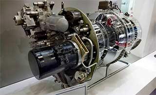 中法合作涡轴16发动机亮相直博会