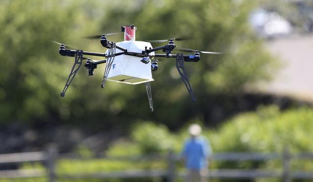 美大学用无人机运送血液 全程257公里创新纪录