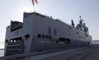 法国西北风级舰奔赴加勒比海救灾