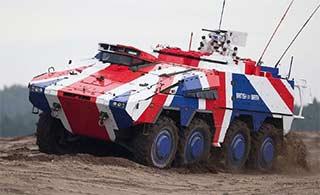 为推销:德装甲车被涂装成这丑样