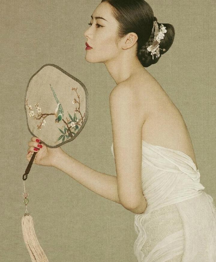 刘雯早期中国风写真 - 阿撸 - 阿撸
