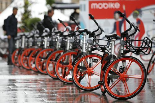 美媒:中国共享单车席卷全球 碾压美国同行龙头老大