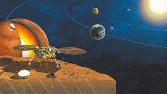 """""""洞察""""号深入探查火星:了解类地行星起源"""
