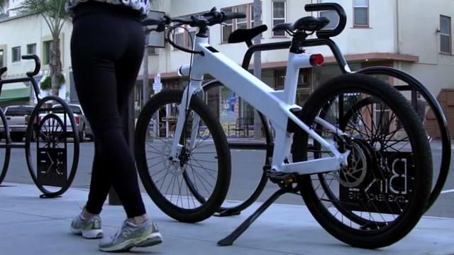 世界上最好的智能电动自行车来了 时速达45公里