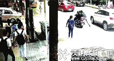 毒贩骑车逃跑 贵阳辅警被拖行50米后忍痛铐住嫌犯