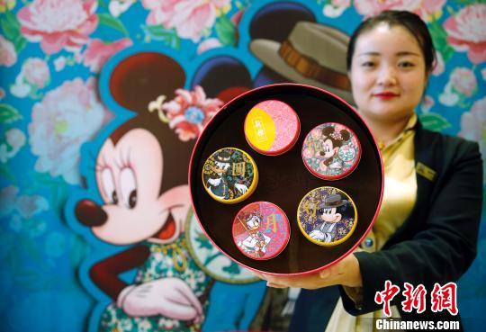 上海月饼老字号推出迪士尼系列