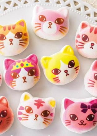 萌化了的猫猫居然可以吃?