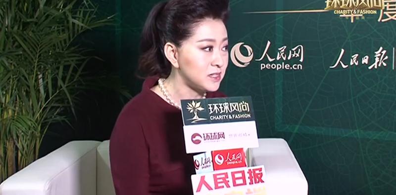 专访2015环球风尚·年度盛典风尚领秀人物郭霁红