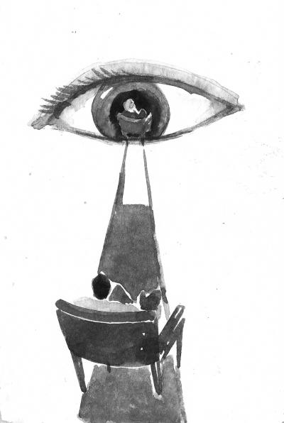 眼底黄斑变性 可看钟表指针自测