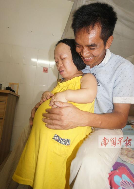 广西身高93厘米袖珍妈妈意外怀孕 她决心拼命产子
