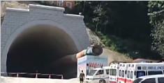 西双版纳一在建铁路隧道坍塌 致9人被困