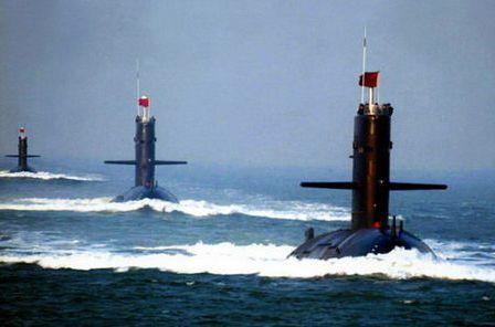 美媒:中国已有70多艘潜艇 但质量比不上美俄