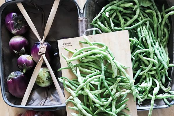 七旬山西老农携50斤蔬菜粮食见北漂儿子