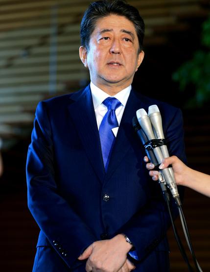 日媒:安倍考虑10月解散众院举行大选