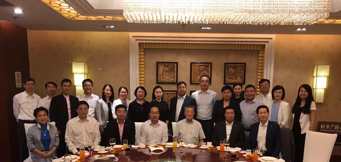 全德华人社团联合会代表团拜访北京市委统战