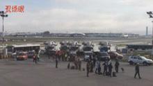 英国航空一客机遭安全威胁 反恐警察到达现场