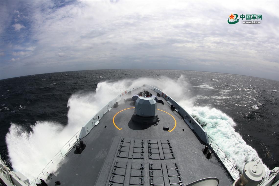 中俄海军在鄂霍次克海开练 兵力编成很有深意