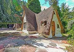 夫妇用10年建童话屋 如今卖到5百万