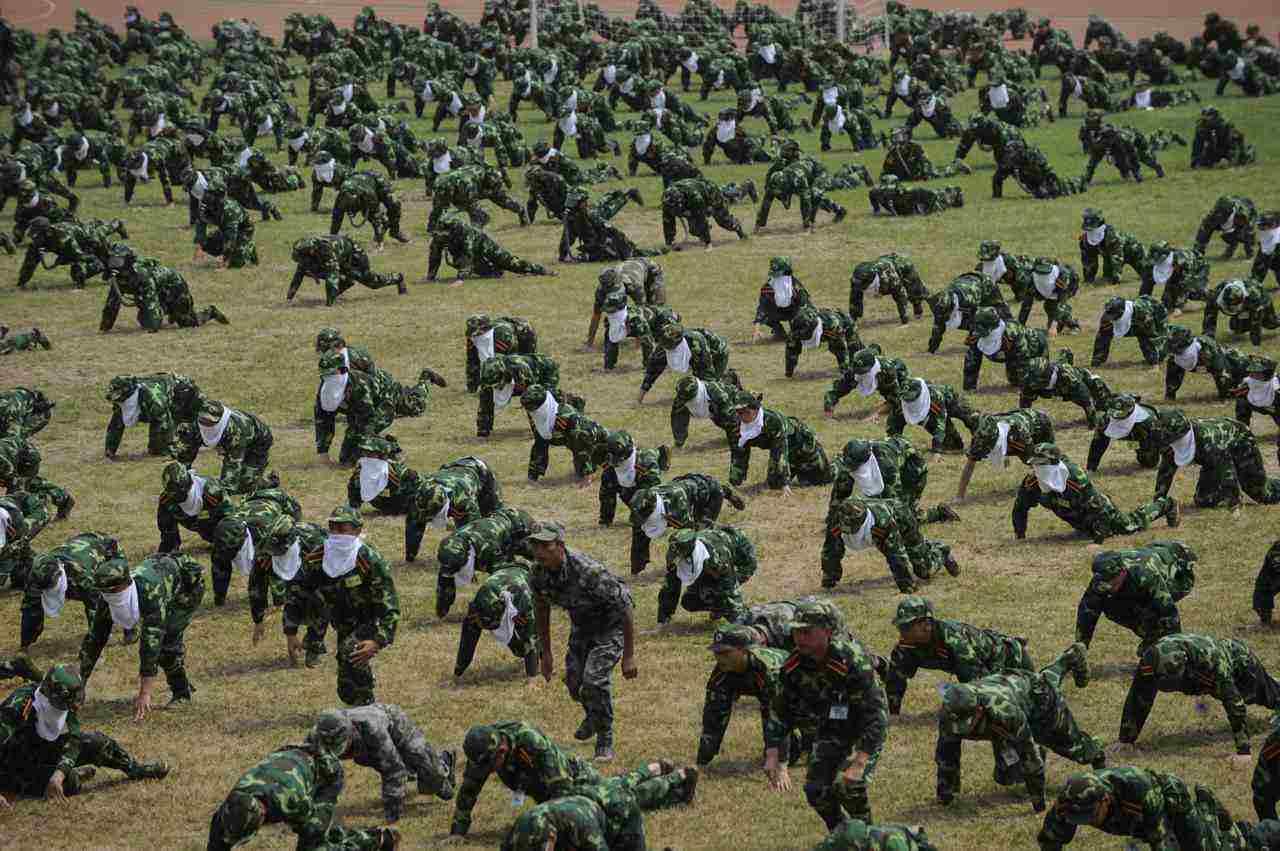 广州举行城市人民防空演习 5000余人1架无人机参演