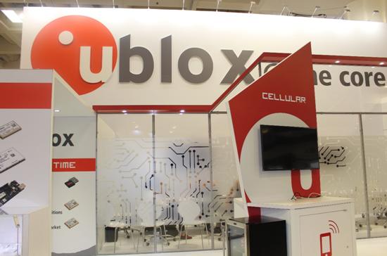 展示核心技术 U-blox亮相美洲移动通信大会