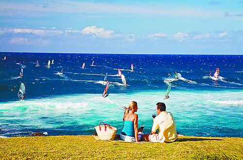 夏威夷野餐 不仅流连海岸线