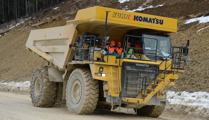 45吨自卸卡车将成为世界上最大的电动车