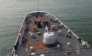 戚继光舰首次远航将访问4国