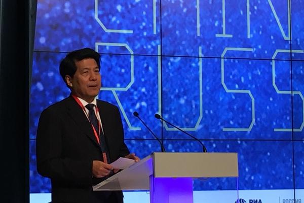中国驻俄罗斯大使李辉发表开幕致辞