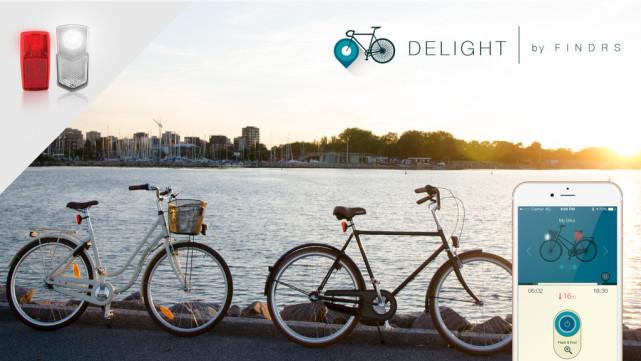总丢自行车?这款车灯能同时保护你和车的安全