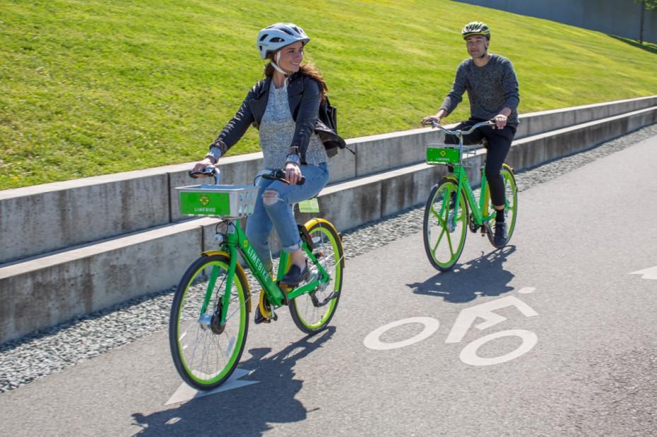 美国创企也开始做无桩共享单车,每半小时收1美元