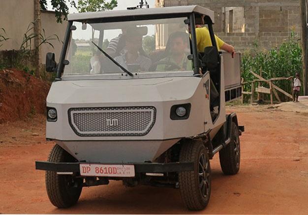 真不贵 这款专为非洲农村道路设计的电动车