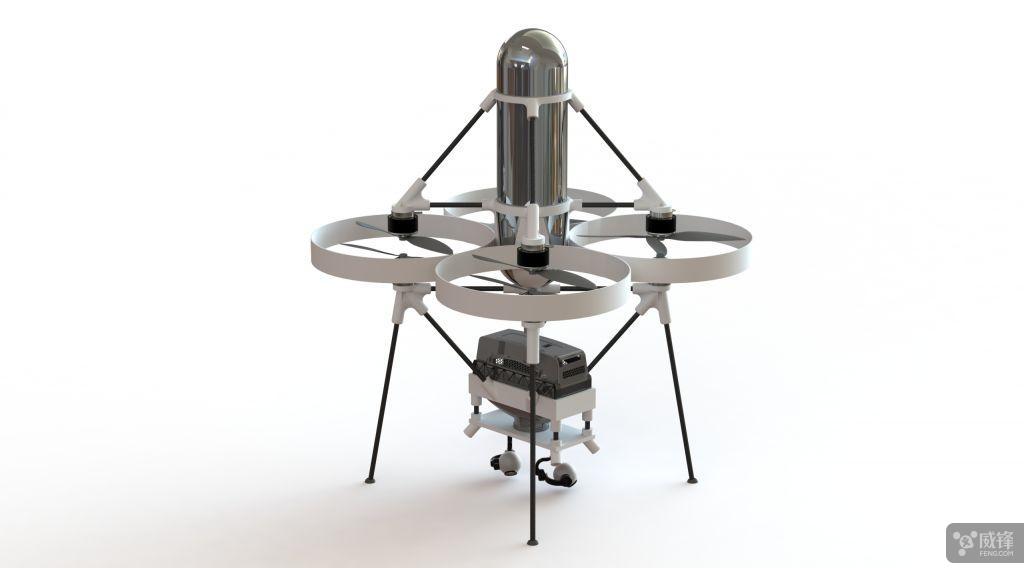 充电几分钟飞行两小时 无人机用上氢燃料电池