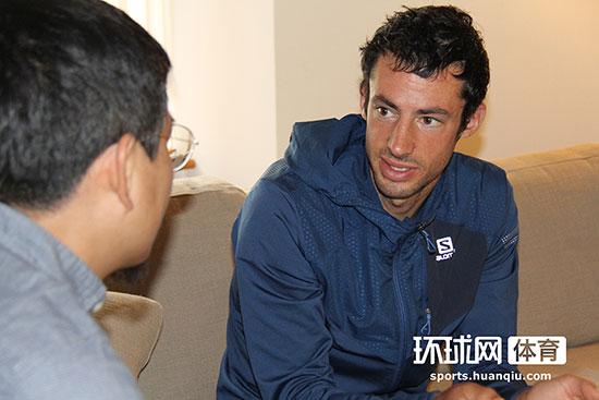 环球网独家专访K天王:期待去中国参加天空跑