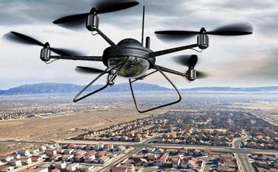 全国石油学子比拼创新能力:无人机监测油气管道