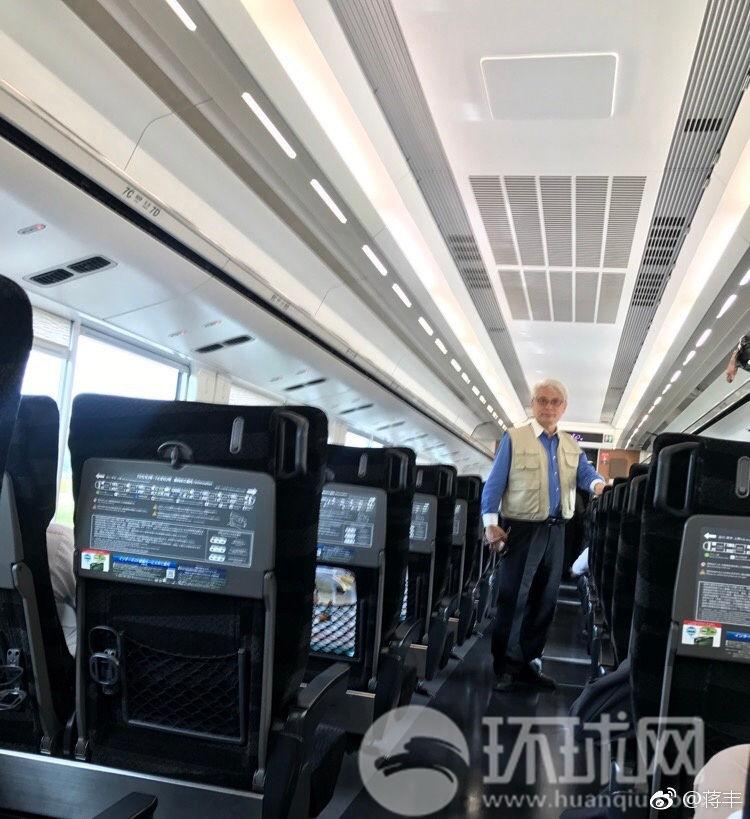 """临近终点站 前往福岛第一核电站特急电车变""""专列"""""""
