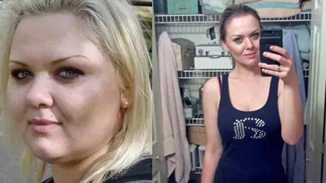 124公斤胖妹怒减变女神