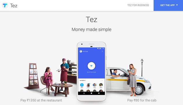 谷歌在印度发布移动支付应用Tez 可用超声波转账