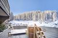 盘点全球著名滑雪胜地 边泡温泉边看雪景