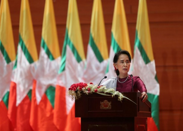 昂山素季:缅甸重视人权 国际指控必须要有证据