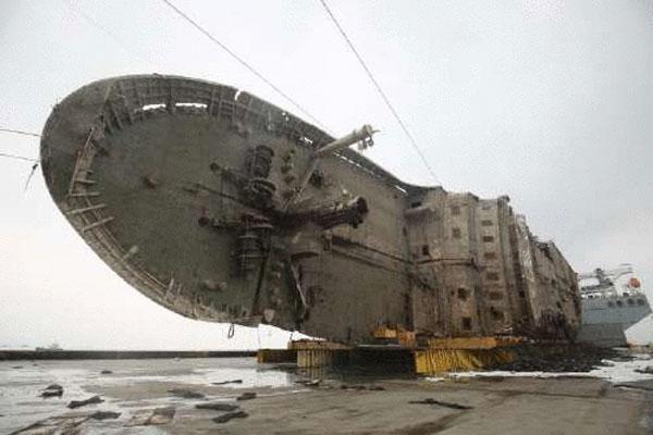 可怕!韩国世越号沉没时舱内监控视频画面曝光