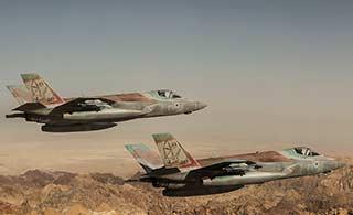 以色列F35战机涂装非常奇特