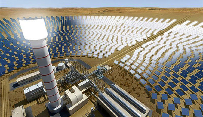 迪拜狂砸钱建世界最高的太阳能塔:总高260米